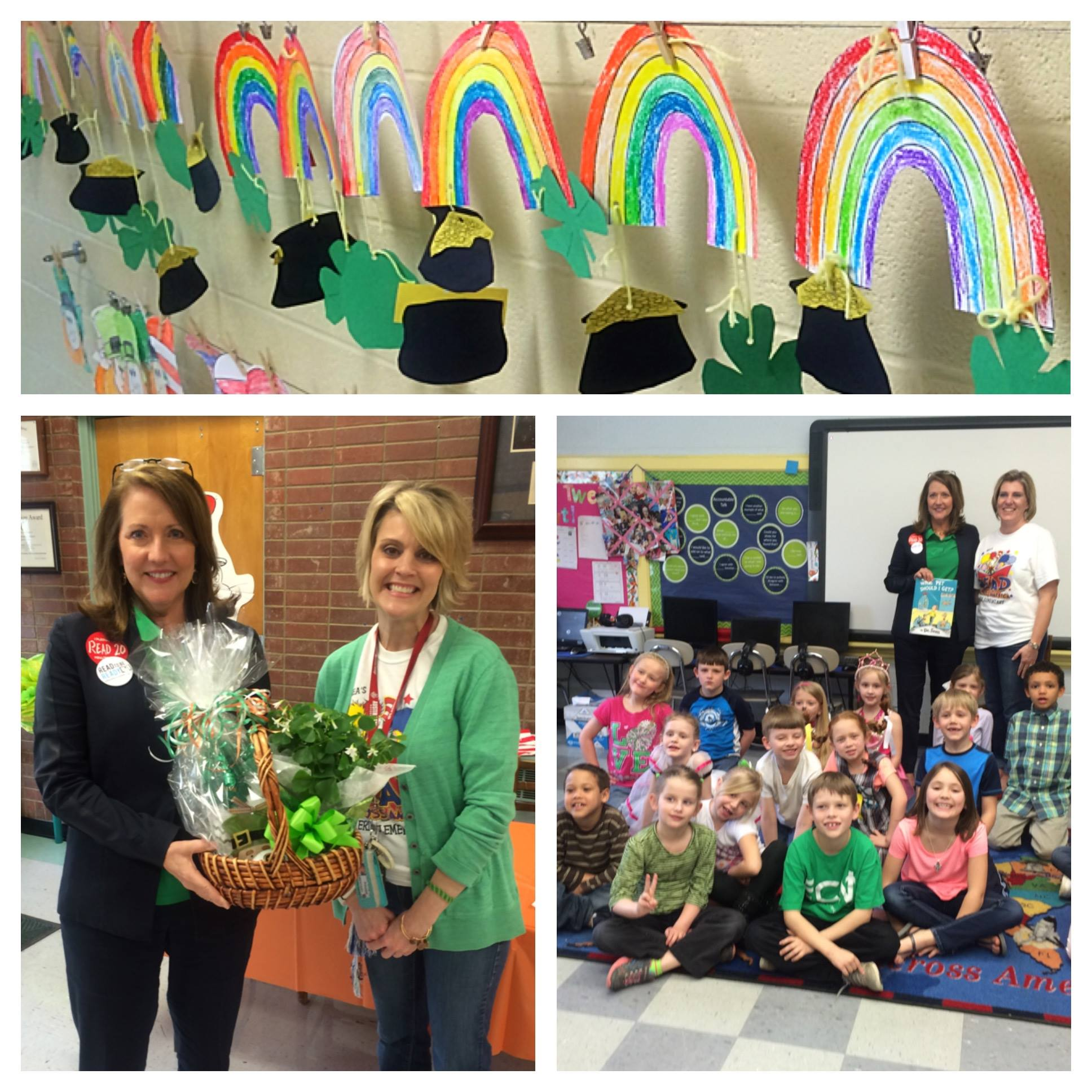 First Lady of Tennessee Visits Erin Elementary